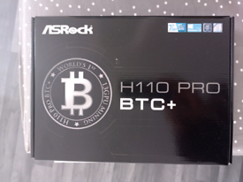 (Brand New Collect Today) ASROCK H110 PRO BTC+ INTEL H110 (SOCKET 115