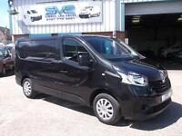 2015/65 RENAULT TRAFIC SWB BUSINESS+ IN METALLIC BLACK WITH AIR CON BIGGER 120BH