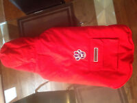 RED CANADA POOCH WINTER DOG JACKET (large size: 24)