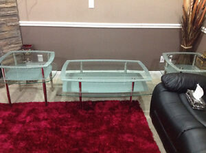 New 3piece coffee tables