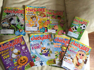 8 Chickdale magazines