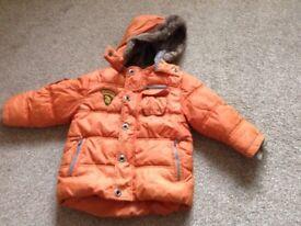 Boys Next coat 12-18 months £3.50