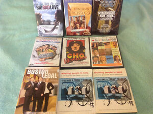 Various previously watched DVDs $2 to $4 Each