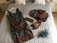 Mother of the bride wedding outfit. Linea Raffealli. Size 12