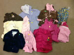 Size 2 coats and snow pants all for $50 London Ontario image 1