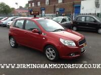 2008 (08 Reg) Chevrolet Aveo 1.4 LT 5DR Hatchback RED + LOW MILES