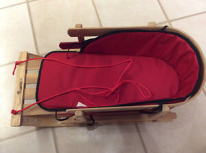 New price - Child's wooden sled