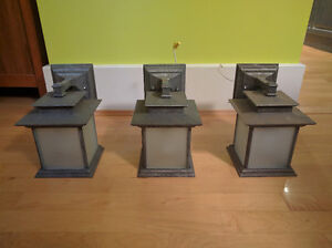 Exterior Wall Lights x3 $40 ea., $70 for 2, $100 for 3