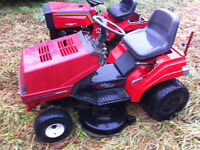 "Noma Riding Lawnmower Garden Tractor 40"" Cut All Wheel Steering"