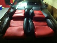 Corvette c4 standard seat covers all colors available