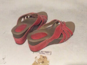 Women's Pink & Brown Shoes
