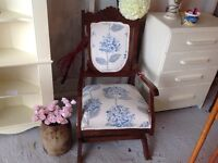 SIX ROCKING CHAIRS FOR SALE