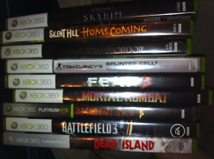 Xbox 360 Games for sale! $12 each! Money needed ASAP!