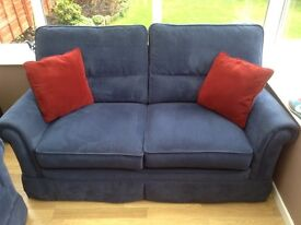 Sofas x2 in blue