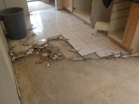 WE TAKE OUR JOBS SERIOUSLY! FLOOR REMOVAL EXPERTS!  2894564083