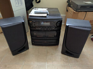 Teac Cassette, Radio, Vinyl and CD Player Combo