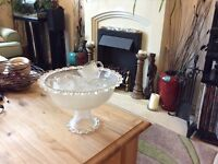 Punch bowl and 6 cups