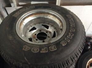 hankook 12.50X 31.  15 pouce toyota off road old school trd