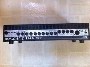 Gallien Krueger Backline 600 Bass Amp