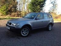 BMW X3 2.0 DIESEL SE 4X4 . 2006, GENUINE 89000 MILES FROM NEW , SH