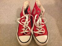 Shoes trainers converse all star size 6