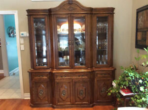 Dining Room Buffet and Hutch (Negotiable)