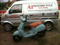 Neco Lola 50cc 50 Moped 50. Scooter. Learner Legal