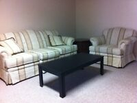 2bedrooms,1 bathroom, furnished bsmt nearby east superstore!