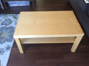 Ikea coffee table.