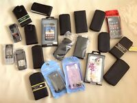 Job lot mobile covers / cases new!