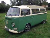 VW T2 Bay Window Camper Van