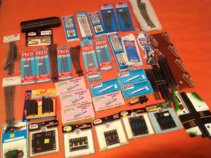 Large Lot of Model Train Track HO Scale
