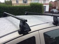 Universal Halfords roof racks good condition