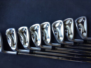 Left Taylor made r7 irons only