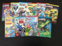Collection of superhero books