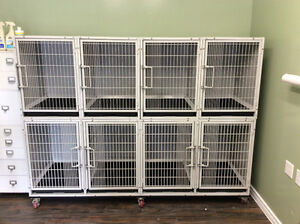 Complete set of Bank Cages