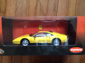 FERRARI 328 GTB YELLOW by KYOSHO VERY RARE 1st Edition NEW IN BO