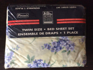 Twin Size Bed Sheet Set
