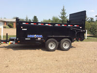 Roofers and contractors have 14 foot dump trailer for hire &rent