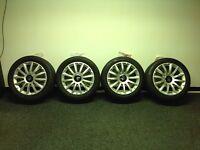 "Maserati Ghibli 18"" Alloy Wheels and Tyres"