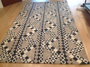Funky , patterned  area  rug