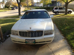 1999 White Cadillac Deville Excellent Condition Used $5000