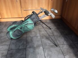 Golf Clubs and bag R/H