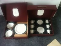 Bone China dinner and tea set: (Pemberton from |M&S) EXCELLENT condition as unused and still boxed