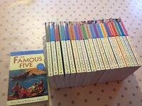 Enid Blyton Famous Five Books. Complete set