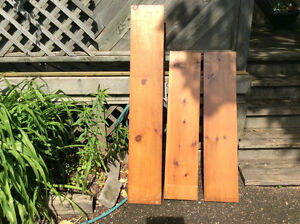 "Dressed Knotty Pine Wood / Shelves 3/4""X9""XVarious Lengths"
