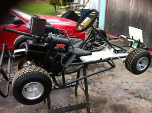 go-kart all brand new used 3 times