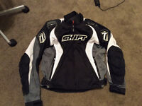 Shift textile motorcycle jacket