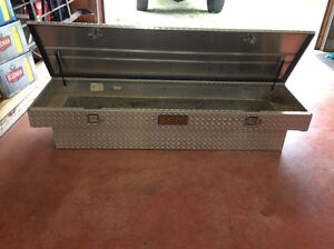 Checker Plate Aluminum Toolbox