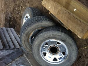 265/75r17 F350 rims with Cooper Discover winters